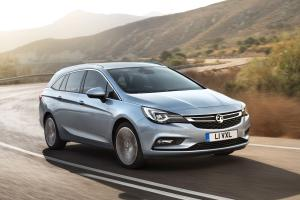 Vauxhall Astra Sports Tourer 2016 года